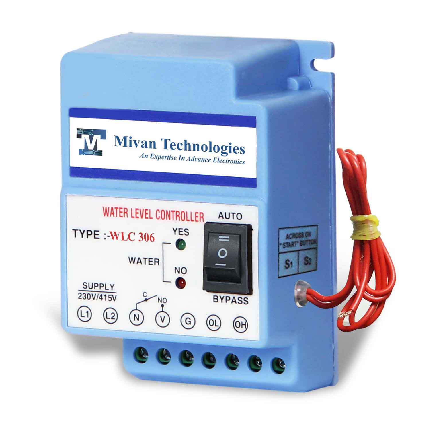 Wlc 306 Water Level Controller For 3 Phase Motor With Sensor Circuit Indicator Http Assets Img