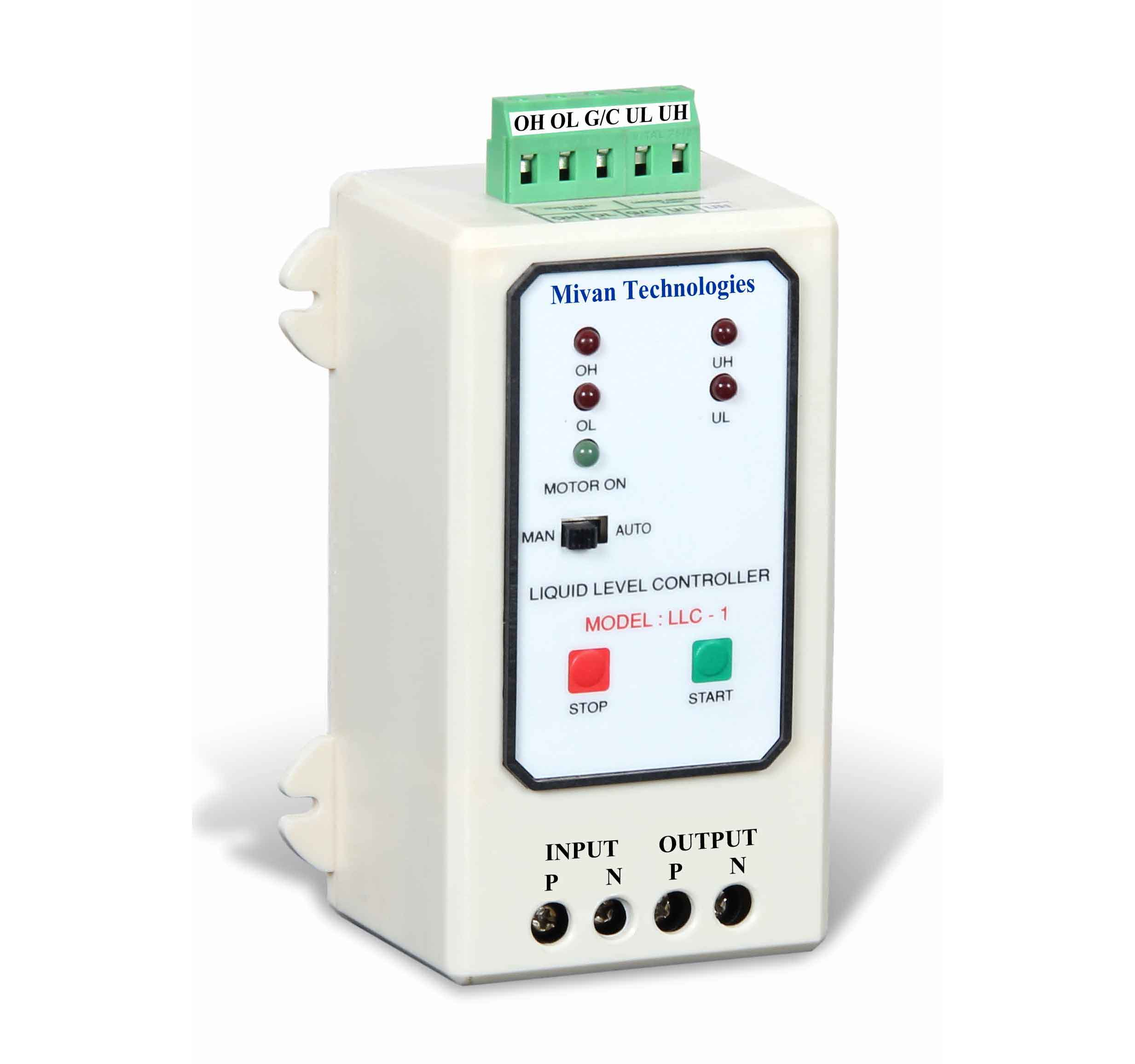 Automatic Water Tank Level Controller Motor Driver Circuit Mivan Technologies 90000 Llc 1 Abs Fully