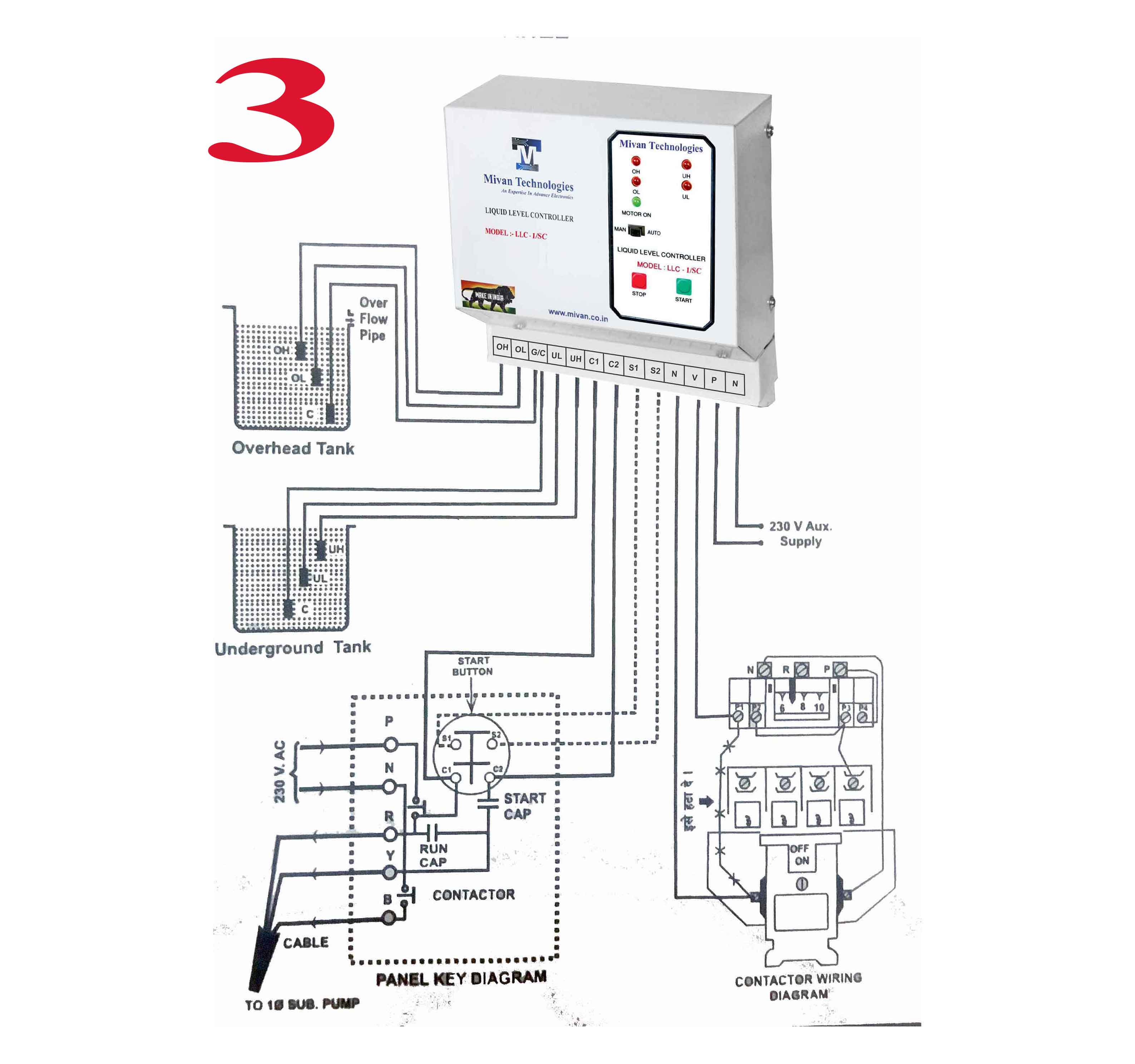 llc com water level controller for all type of starter it can connect withs mivan co in assets img product