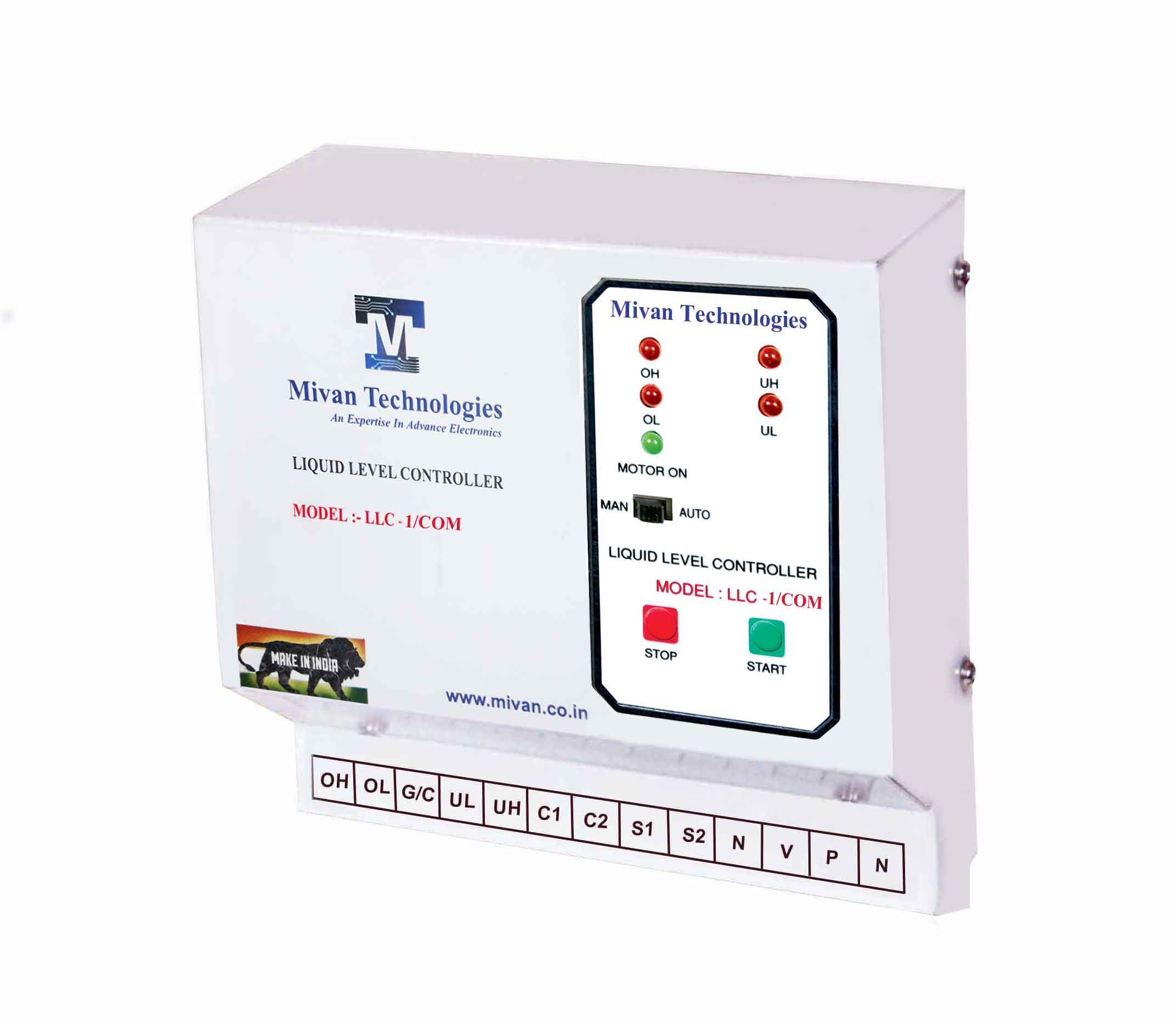 LLC Com water level controller for all type of starter it can connect with and without starter panel