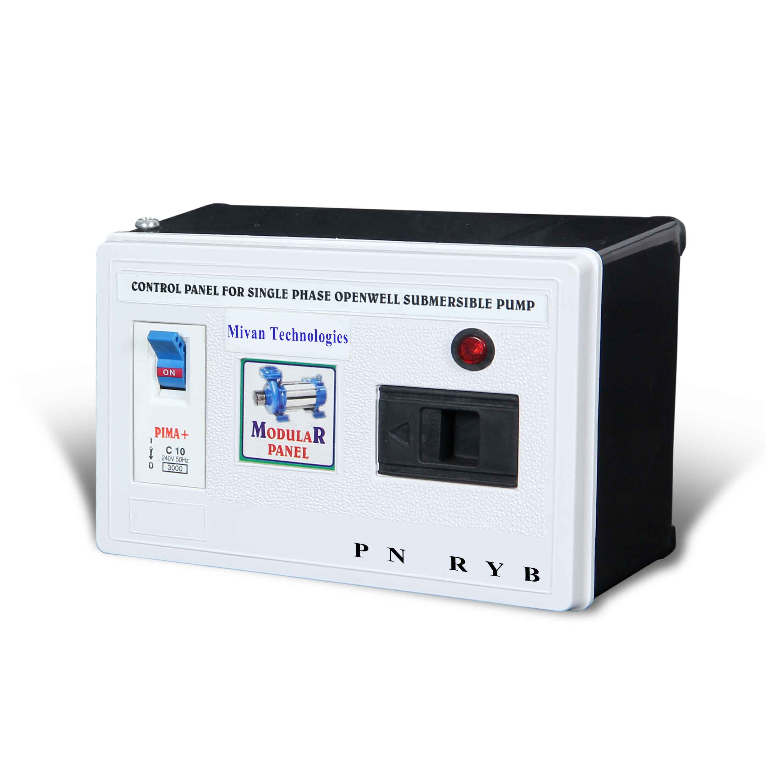 Single Phase motor starter suitable for all single phase submersible motor and pump