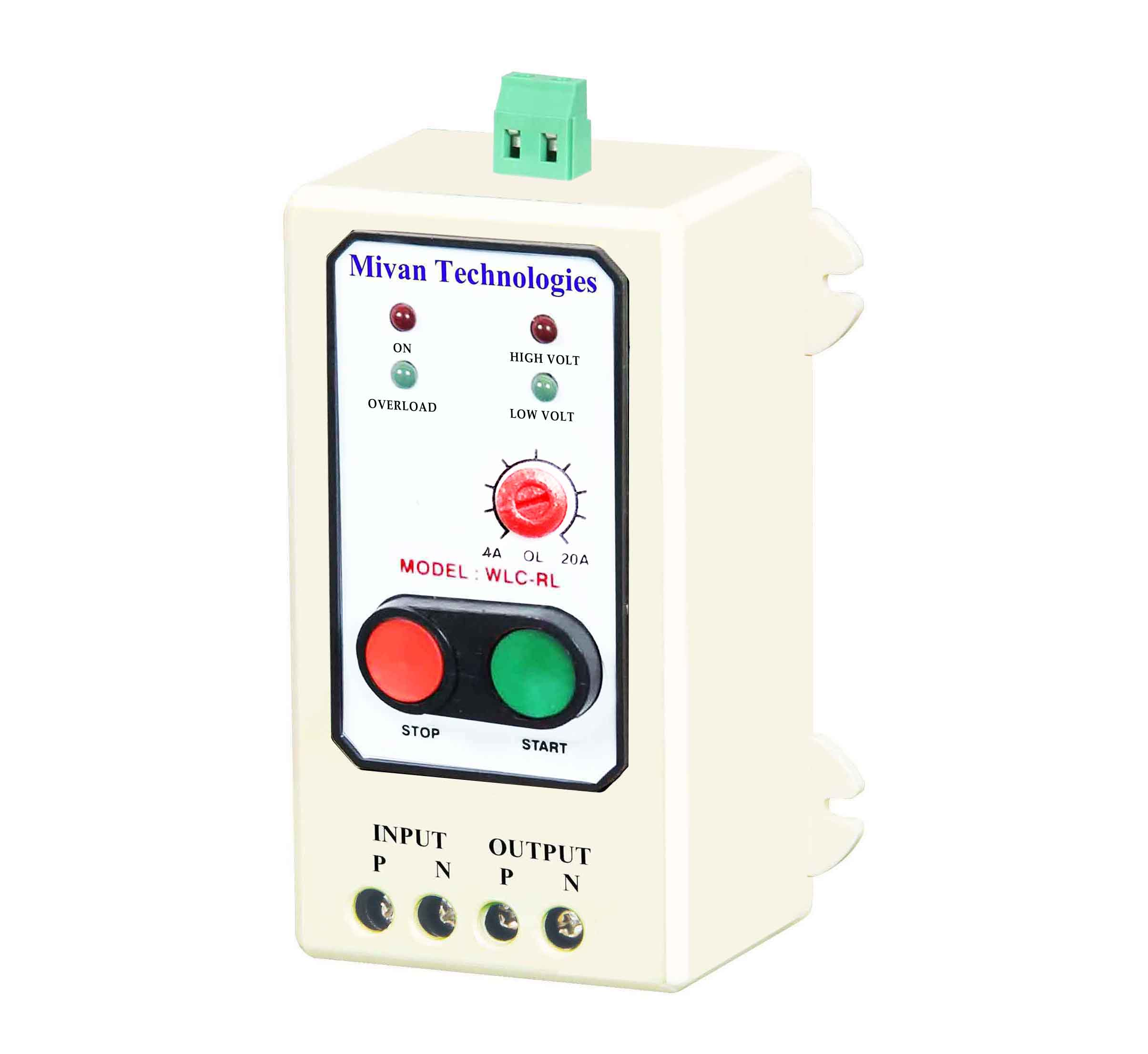 WLC RL semi auto water controller with hv lv and ol protections