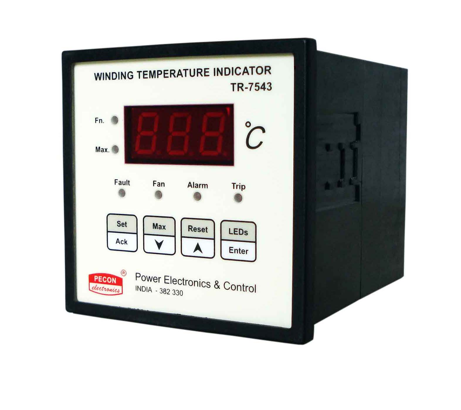 TR 7543 single channel winding temperature indicator with 4 20 mA remote output Transformer Protection Relay  WTI